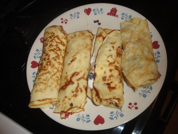 crepe (proteinpannekake)