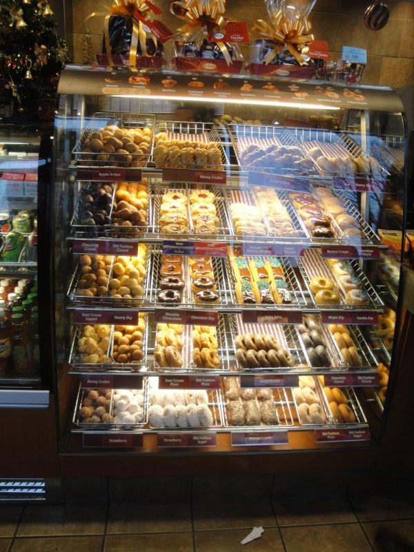 Tim Horton Donut Display