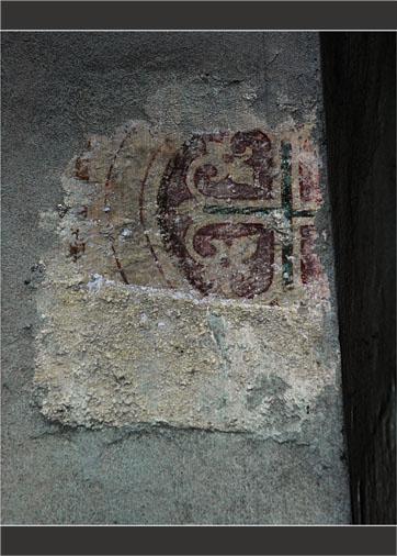 BLOG-DSC_1775-trace fresque intérieur clocher le Teich