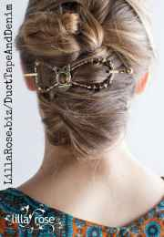 fall hair styles with flexi clips