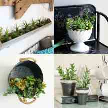 Easy Diy Faux Succulent Planters