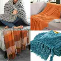 Cozy Fall Throw Blankets Starting Under 10