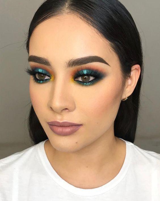 maquiagens coloridas 2020