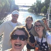 The joys of working on Lake Union!