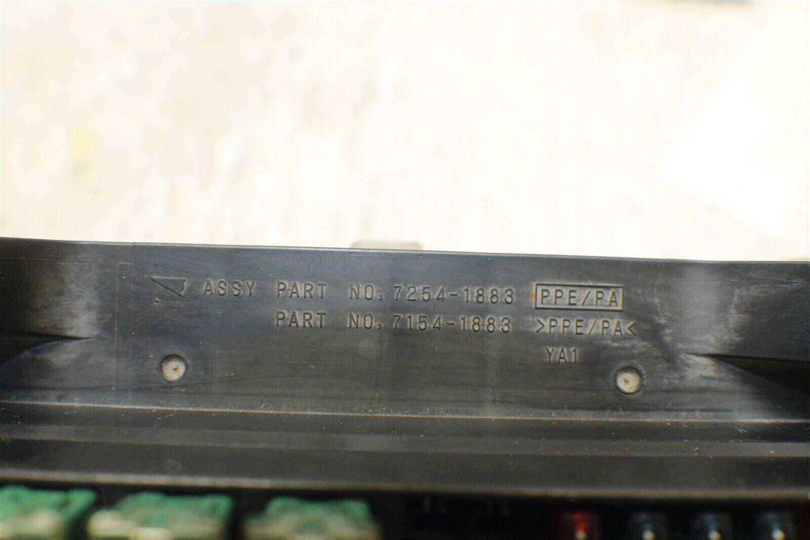 hight resolution of 2000 2003 nissan maxima fuse box relay unit module 72541883 oem 2017 12g4