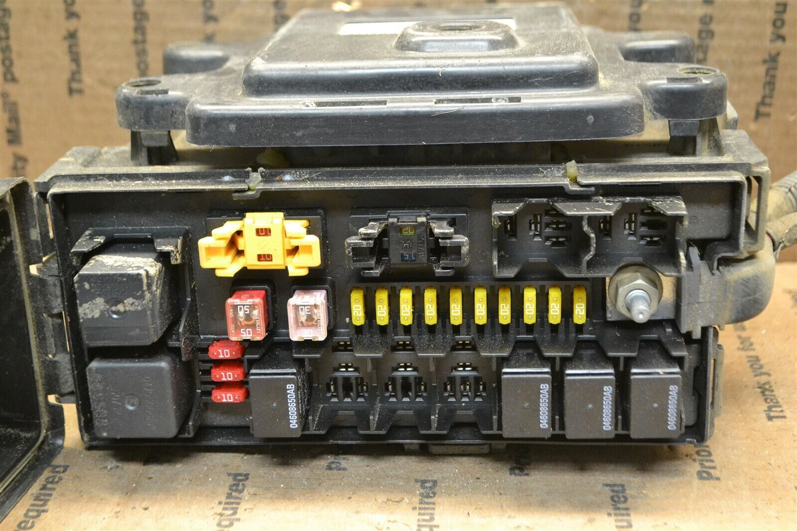 hight resolution of 2007 jeep grand cherokee fuse box junction bcm p04692138af module 21958 1959 2010 2011d6