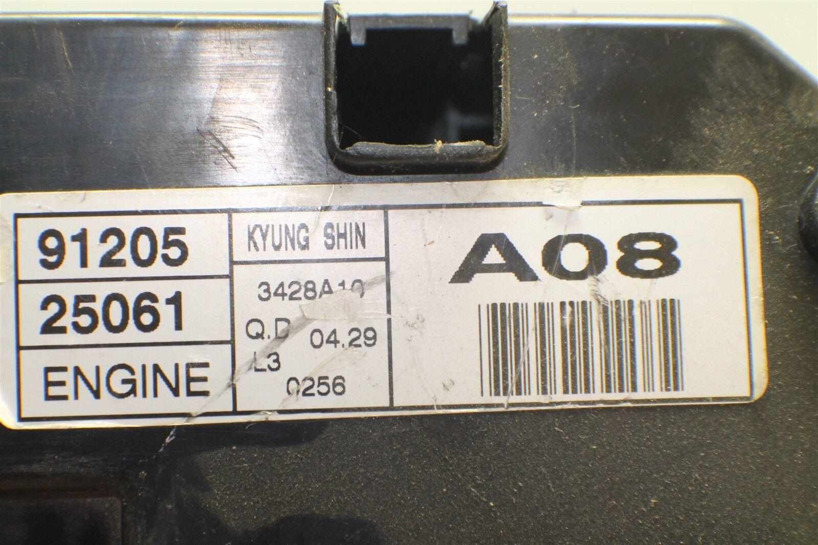 small resolution of 2002 2005 hyundai accent fuse box relay unit 9120525061 module 1926 12h3