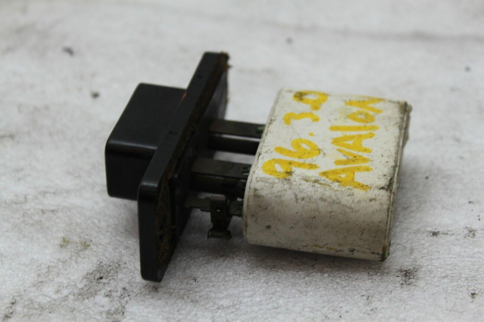 medium resolution of 1995 1999 toyota avalon air blower motor heater resistor z 11 1