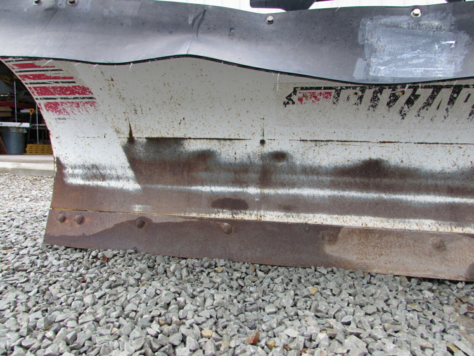 small resolution of used blizzard 8ft 8000hd snow plow power hitch 2