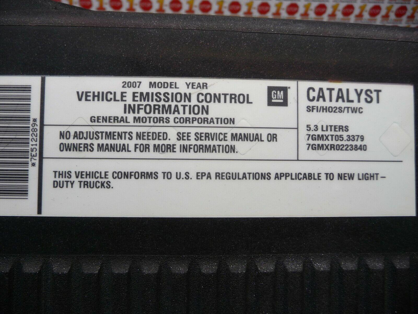 2007 2008 chevrolet silverado 1500 high capacity k47 air cleaner box assembly oem [ 1600 x 1200 Pixel ]