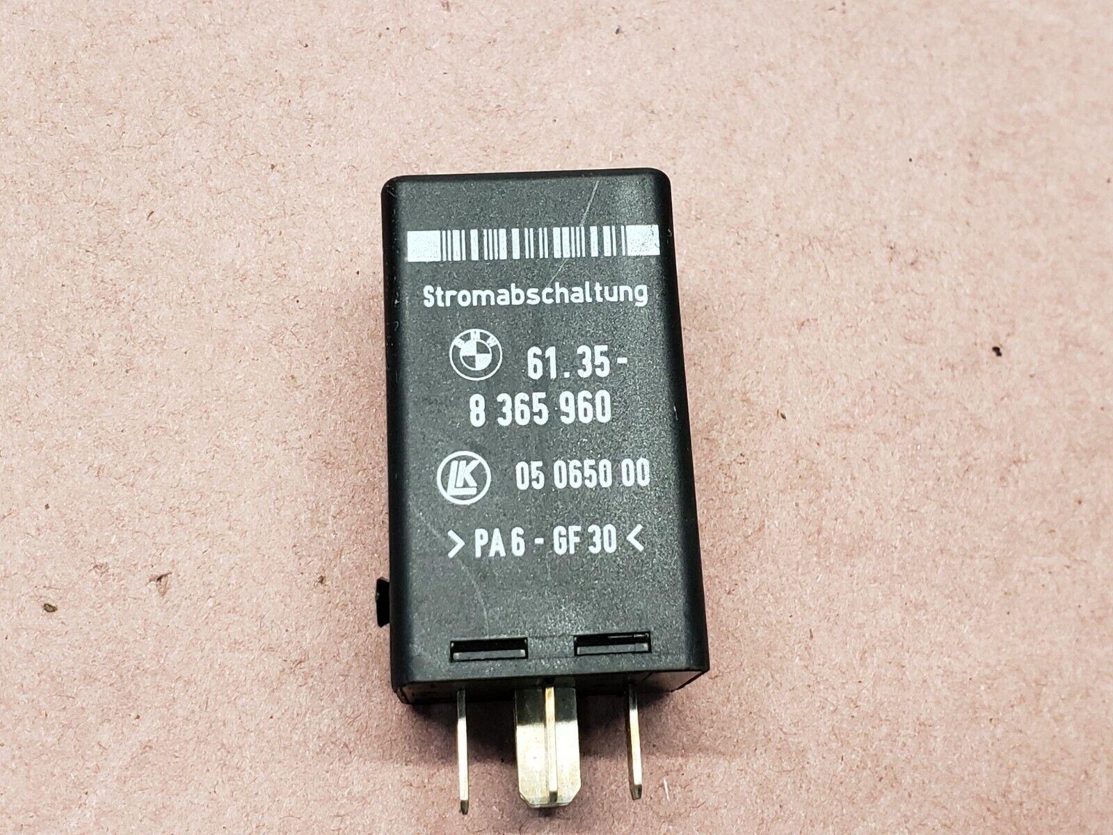 medium resolution of 2000 2006 bmw 5 7 series crash disconnect relay oem 61358365960