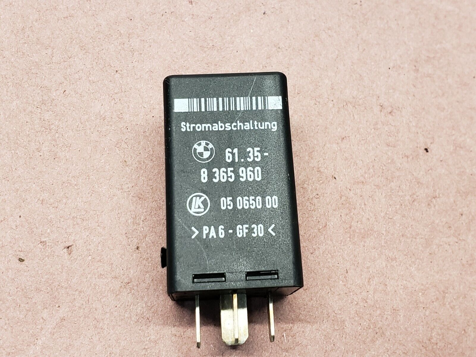 small resolution of 2000 2006 bmw 5 7 series crash disconnect relay oem 61358365960