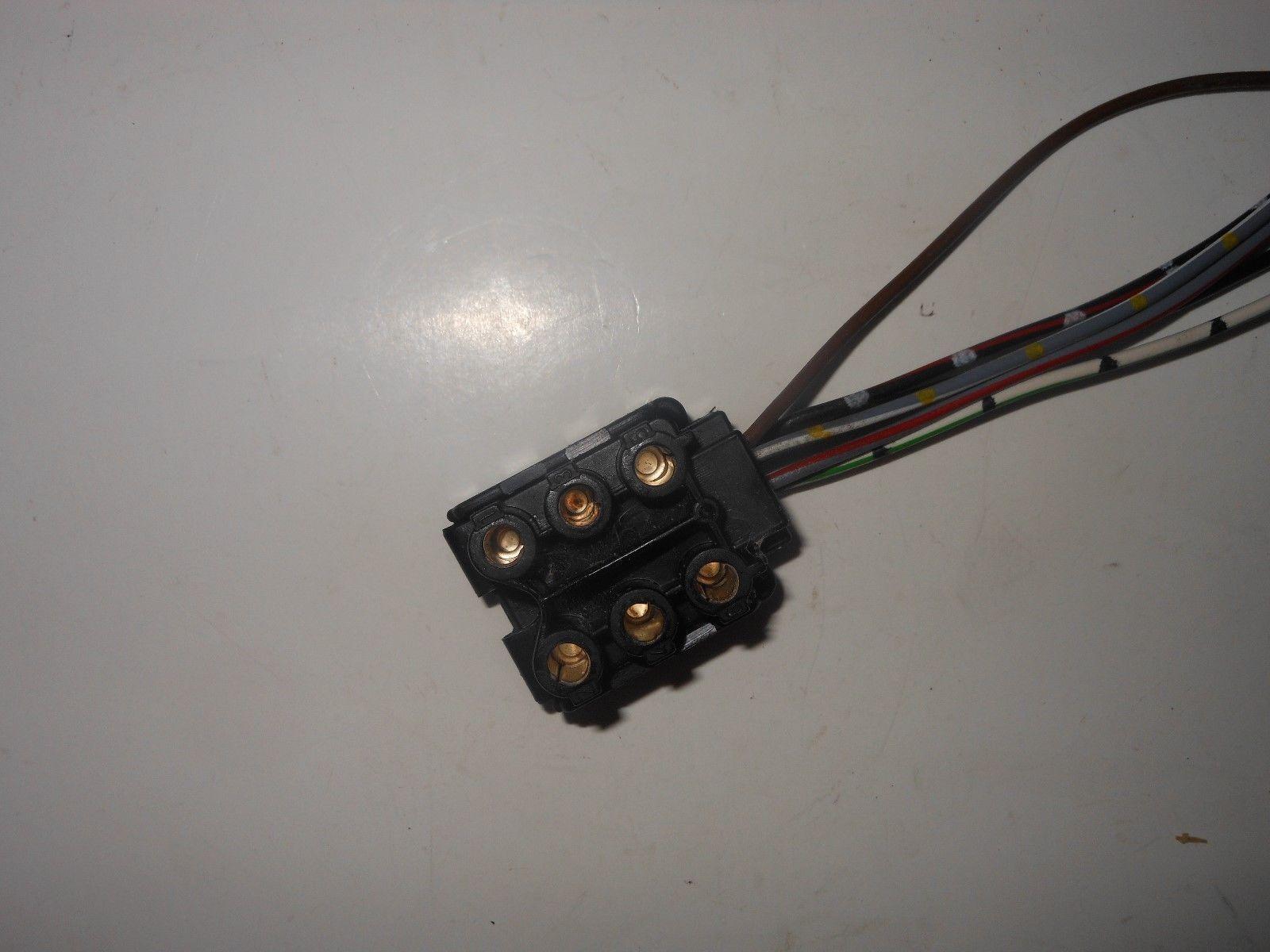 mercedes 1986 1993 w124 300e 300d 260e tail light wiring harness pigtail plug 124 [ 1600 x 1200 Pixel ]