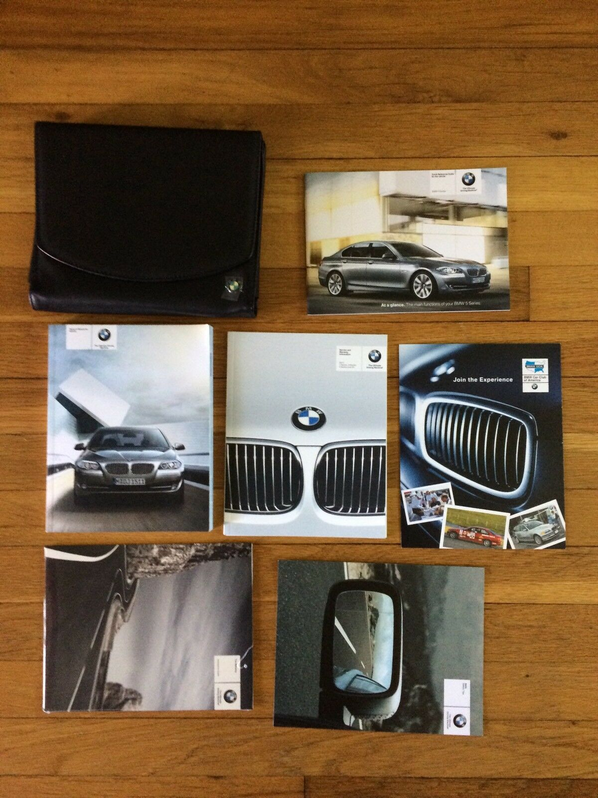 2011 bmw 5 series owners manual and navigation and case [ 1200 x 1600 Pixel ]