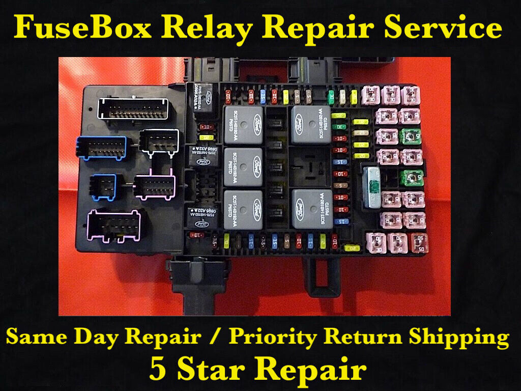 hight resolution of ford expedition lincoln navigator 2003 2006 fuse box fuel pump relay repair
