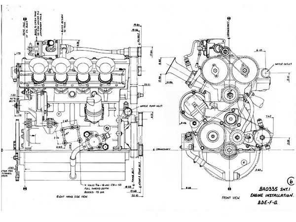 #Tech – The Cosworth BD engine.