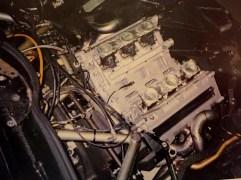 The 1996 PRV 90° 690RC engine during installation mock up.