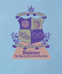 dudeism coat of arms