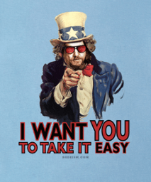 i want you to take it easy