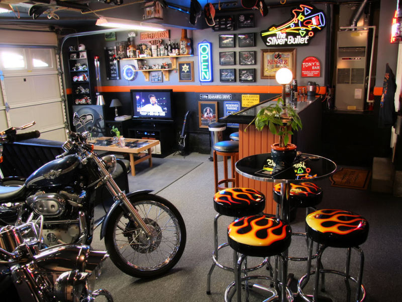 How To Transform A Garage Into A Man Cave Effortlessly Dudeliving