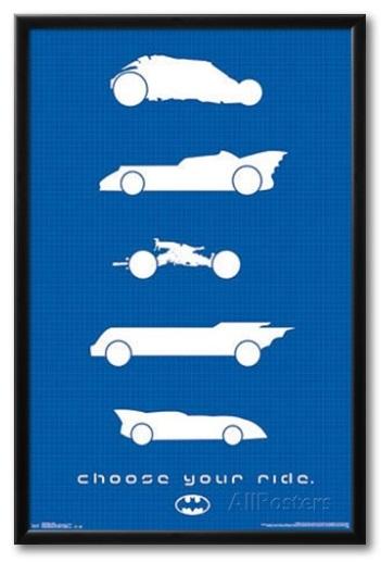 batmobile posters