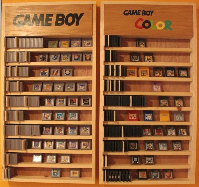game room shelf