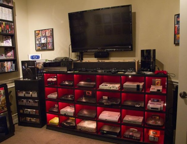 game room video game systems
