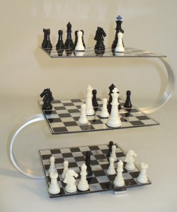 multi layred chess board