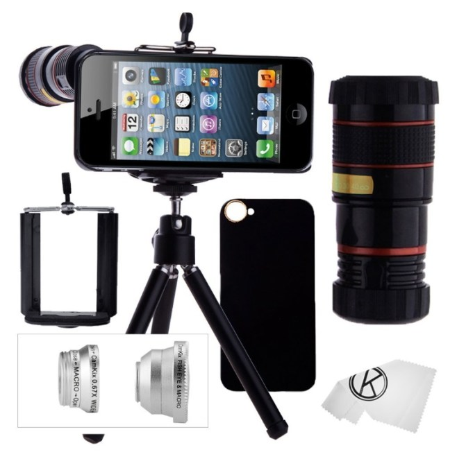 smartphone photographer kit