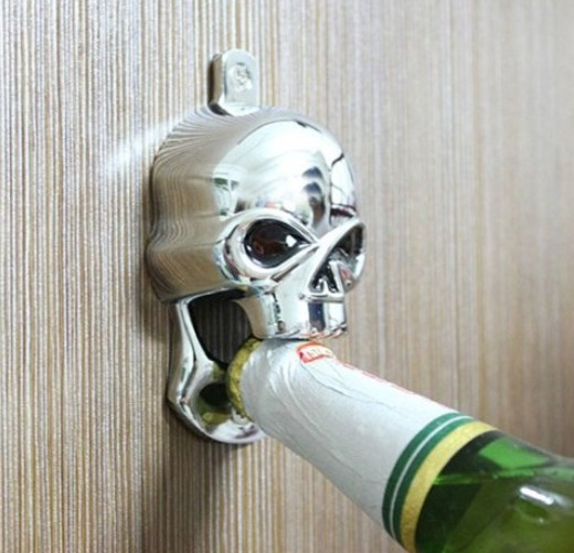 skull beer bottle opener