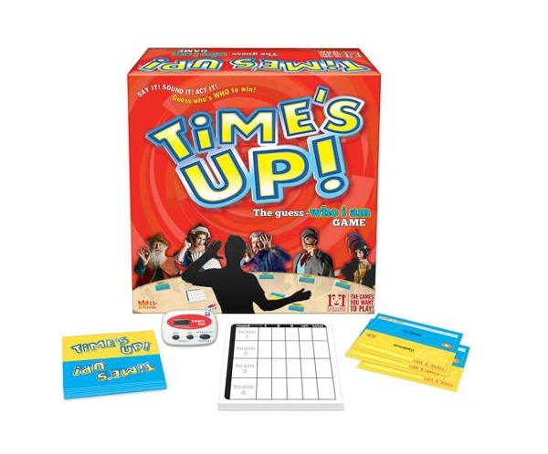 time's up board game review