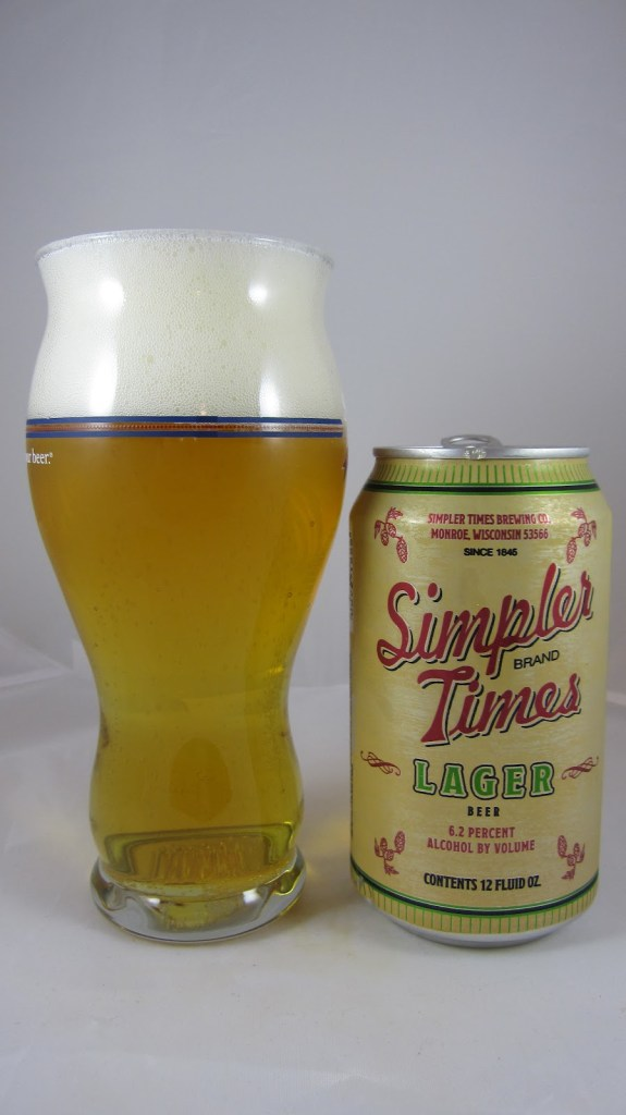 Simpler Times Lager awsome cheap beer