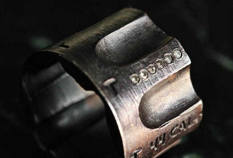44 revolver mens ring