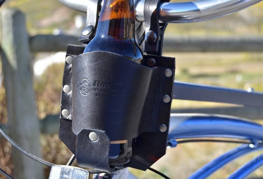 beer holder for bike