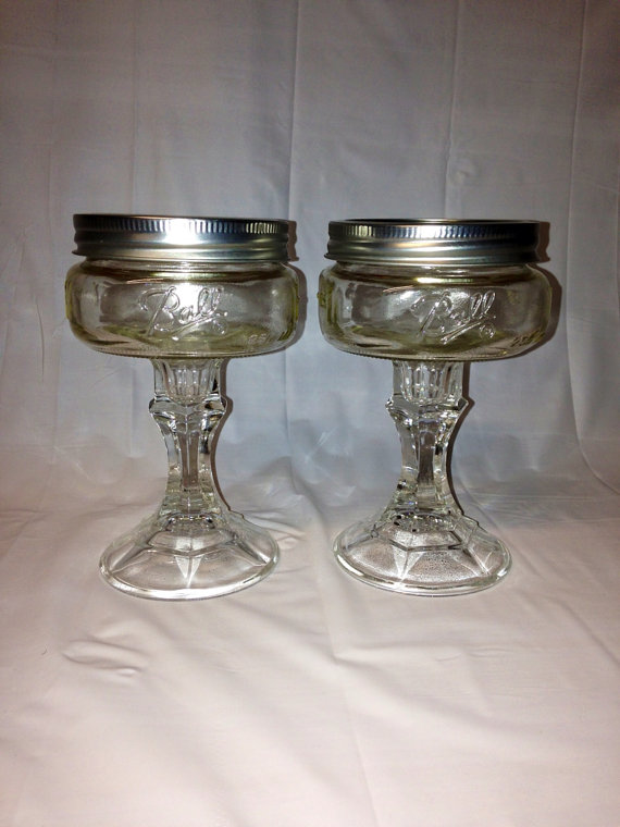 mason jar martini glasses