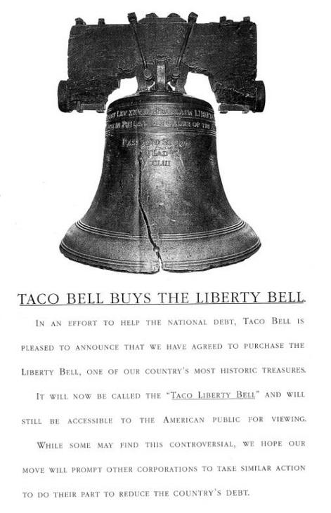 april fools joke taco bell