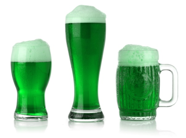 green beer st patricks day