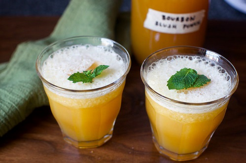 BOURBON SLUSH PUNCH