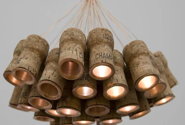 recycled indor lamps