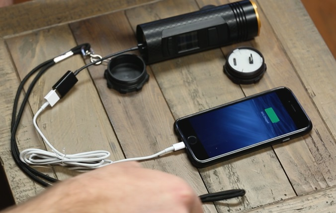 mobile phone charger on the go