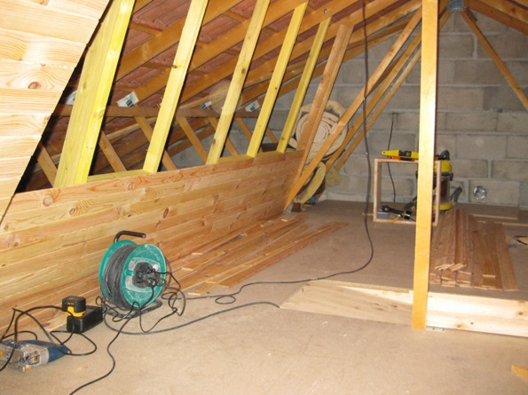 diy attic ideas