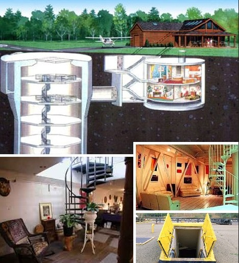 prepper shelter man cave ideas