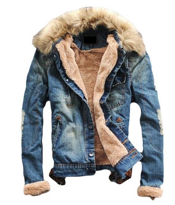 warm jeans jacket