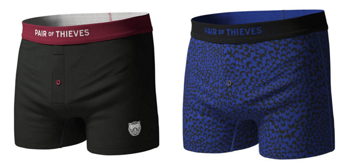 pair of theives underwear