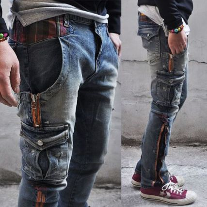 cool mens jeans pocket