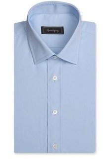 plain blue dress shirt