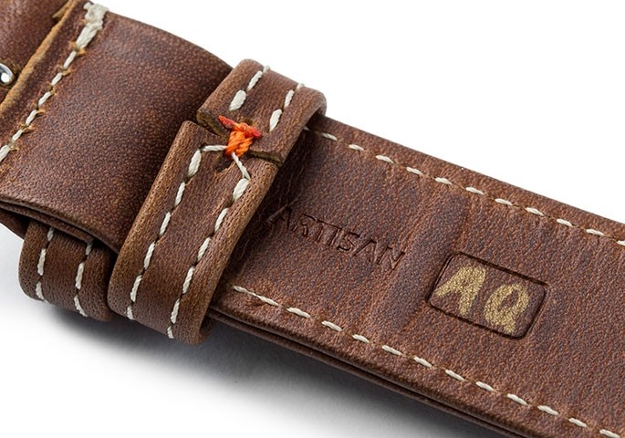genuine leather watch straps for apple watch