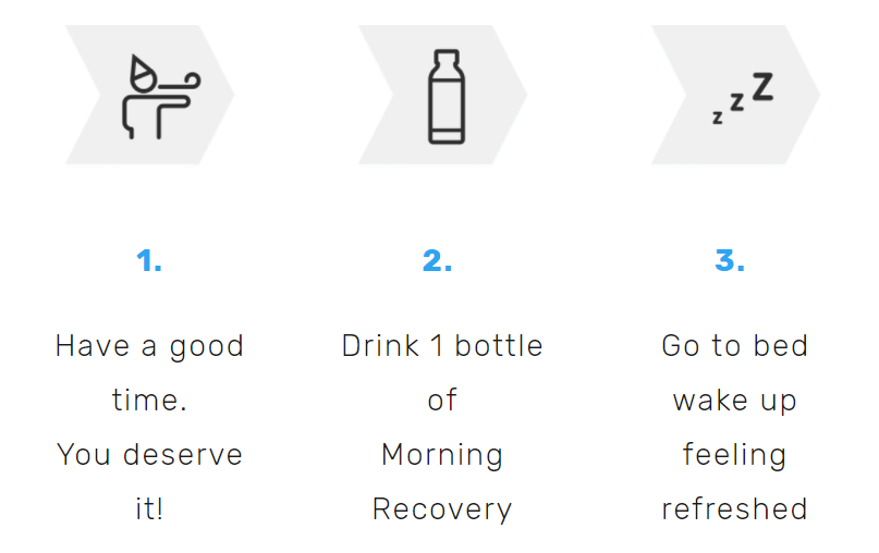 morning recovery drink reviews