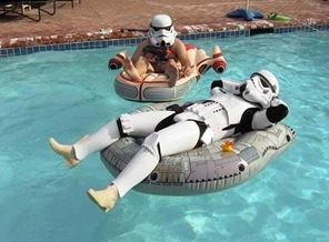 storm troopers takin er easy
