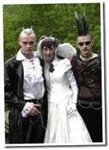 goth wedding